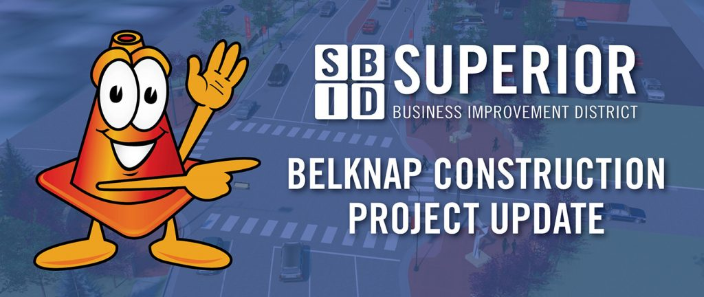 Superior BID Belknap Construction