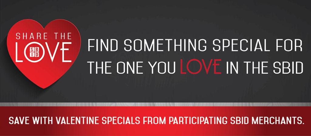 Superior BID Valentine's Specials