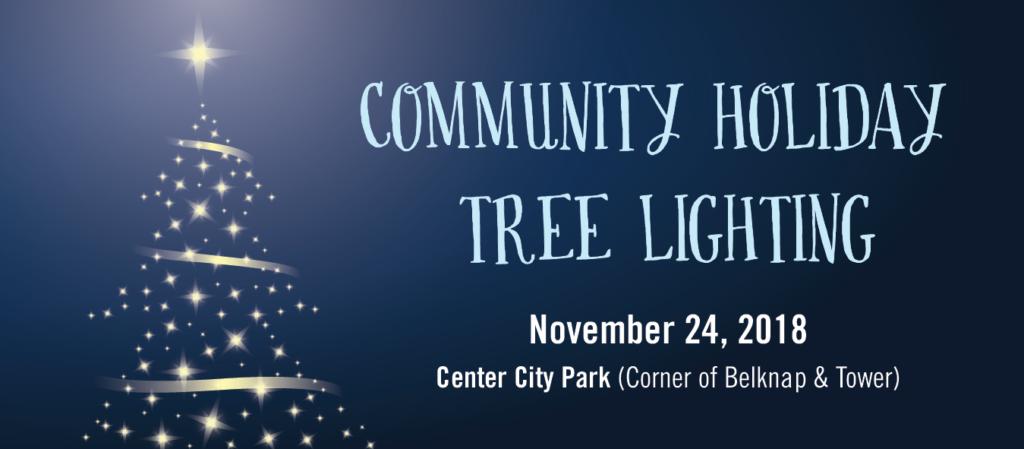 Community Holiday Tree Lighting